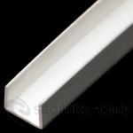 PVC ukončovací U profil 12,5 dl. 3,0m