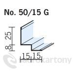 OWA premium S 3a obvodový profil 3050mm č. 50/15G