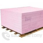 Sádrokartonové desky Knauf GKFi 12,5x1250x2000 HRAK