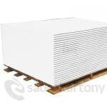 Sádrokartonové desky Knauf WHITE 12,5x1250x2600 HRAK