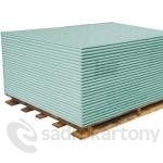 Sádrokartonové desky Knauf GREEN 12,5x1250x2000 HRAK