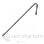 Závěsný drát s hákem 375mm (100ks)